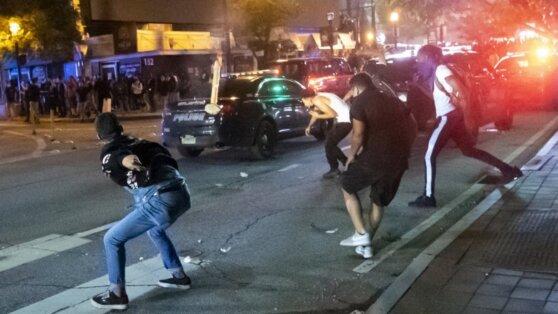 В Атланте объявлено чрезвычайное положение из-за массовых беспорядков