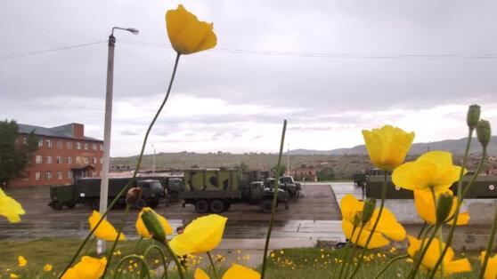 Минобороны начало переброску полевого госпиталя в Забайкалье