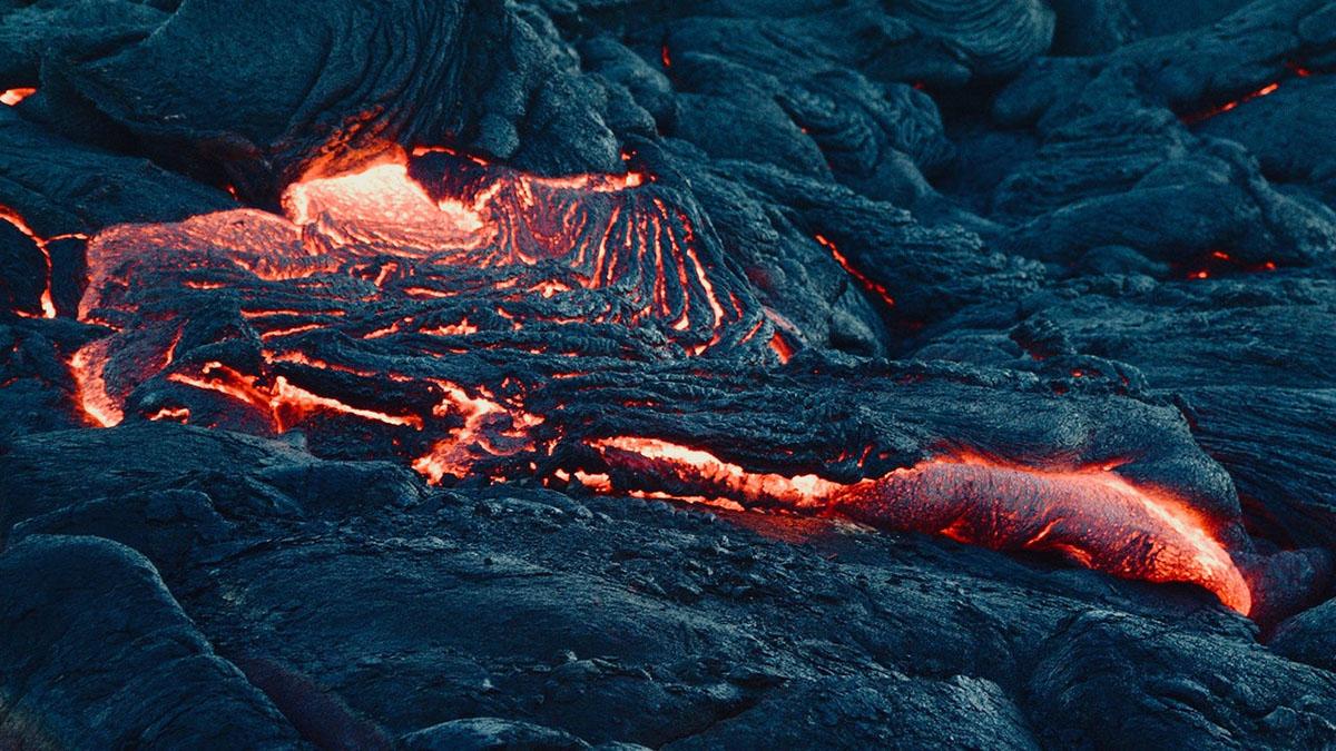 Лава Вулкан