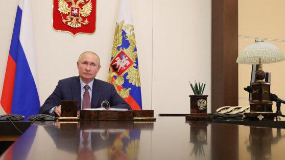 Путин заявил об отступлении эпидемии коронавируса