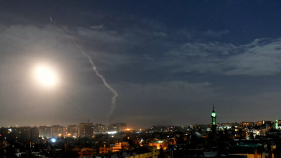 Силы ПВО Сирии отразили израильскую атаку