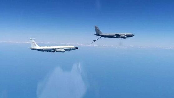Американские самолеты-разведчики были обнаружены над Черным морем