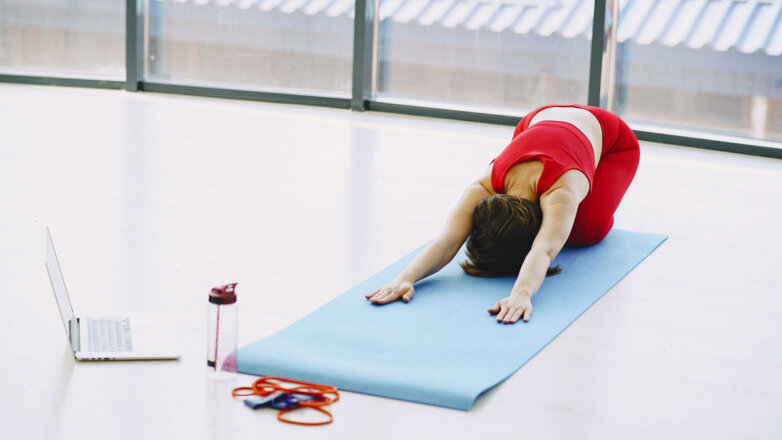 Онлайн тренировка Фитнес Йога