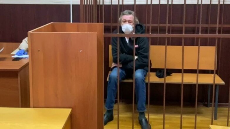 Актёр Михаил Ефремов в Таганском районном суде