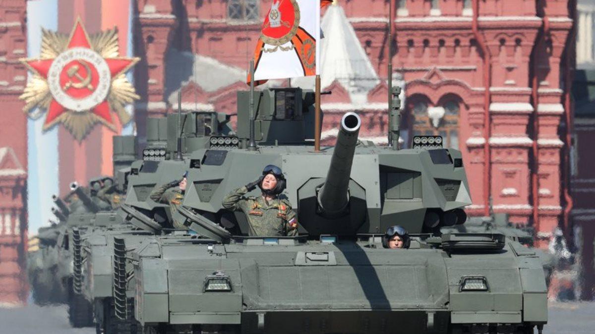 День Победы парад танк Армата