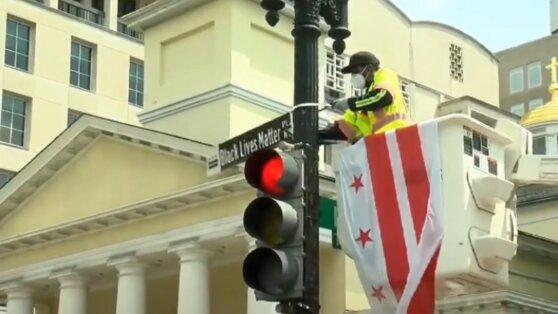 Улицу в Вашингтоне переименовали в честь погибших афроамериканцев