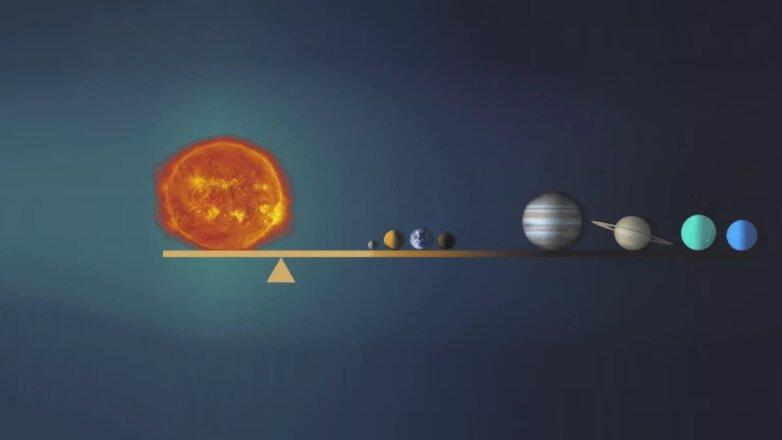 Центр тяжести Солнечной системы