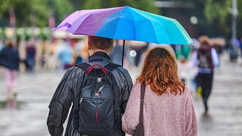 Погода дождь улица лето