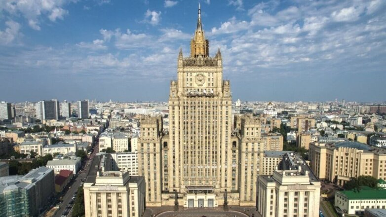 Здание МИД Министерство иностранных дел РФ фасад