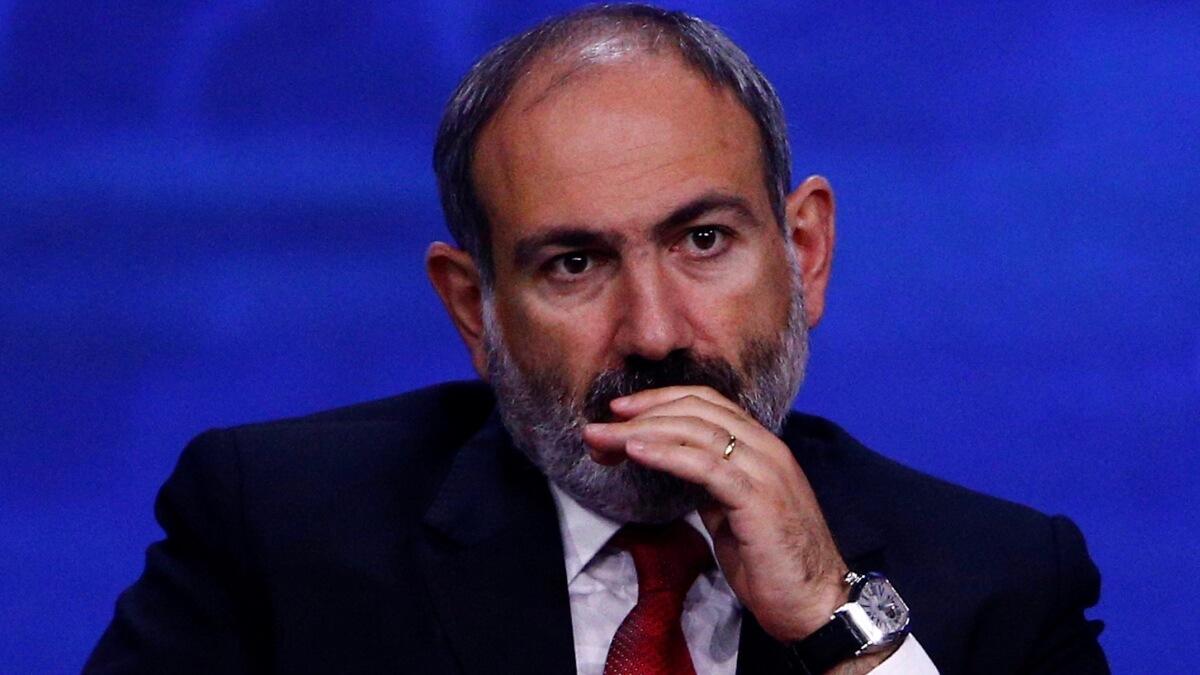 Никол Пашинян, премьер-министр Армении