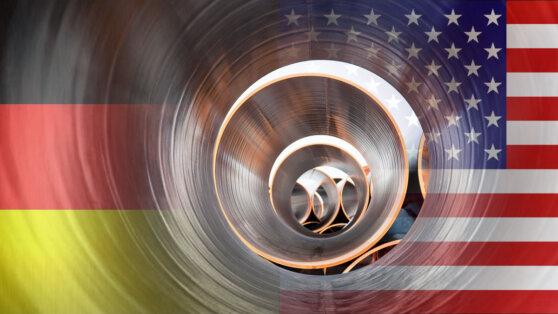 Германия приготовилась ввести штрафные пошлины на американский газ