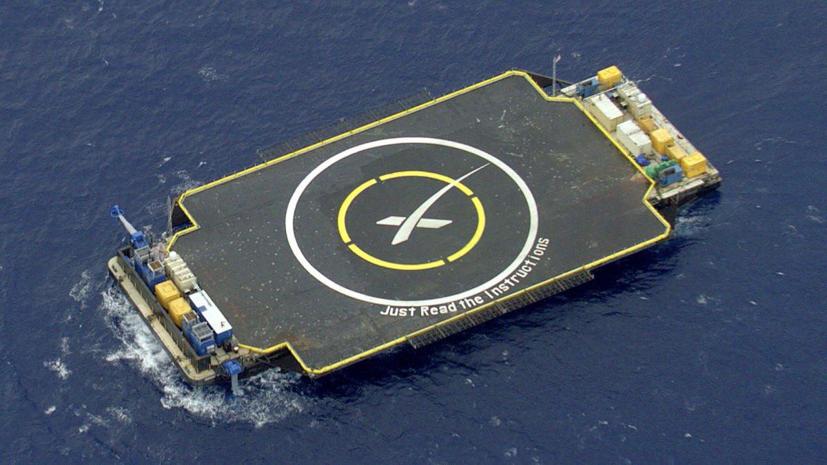 Платформа для морских стартов ASDS Just Read the Instructions