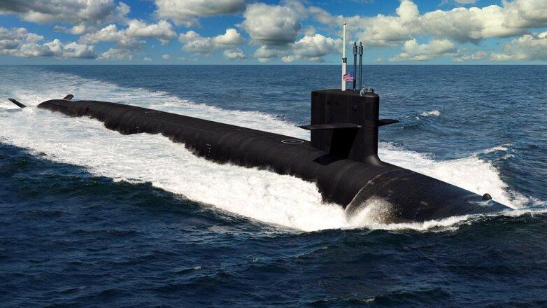 США Подводная лодка USS Columbia SSBN-826