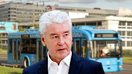 Собянин заявил об увеличении пассажиропотока в транспорте Москвы