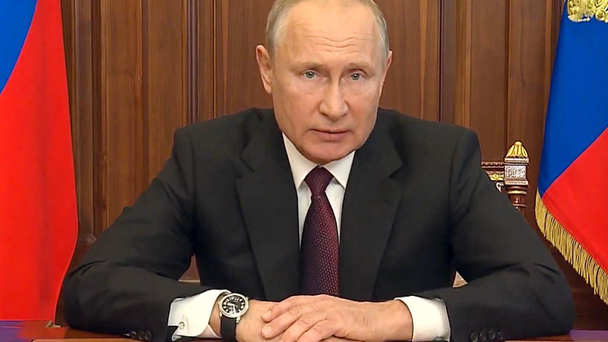 Владимир Путин и часы