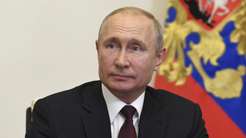 Владимир Путин крупный план