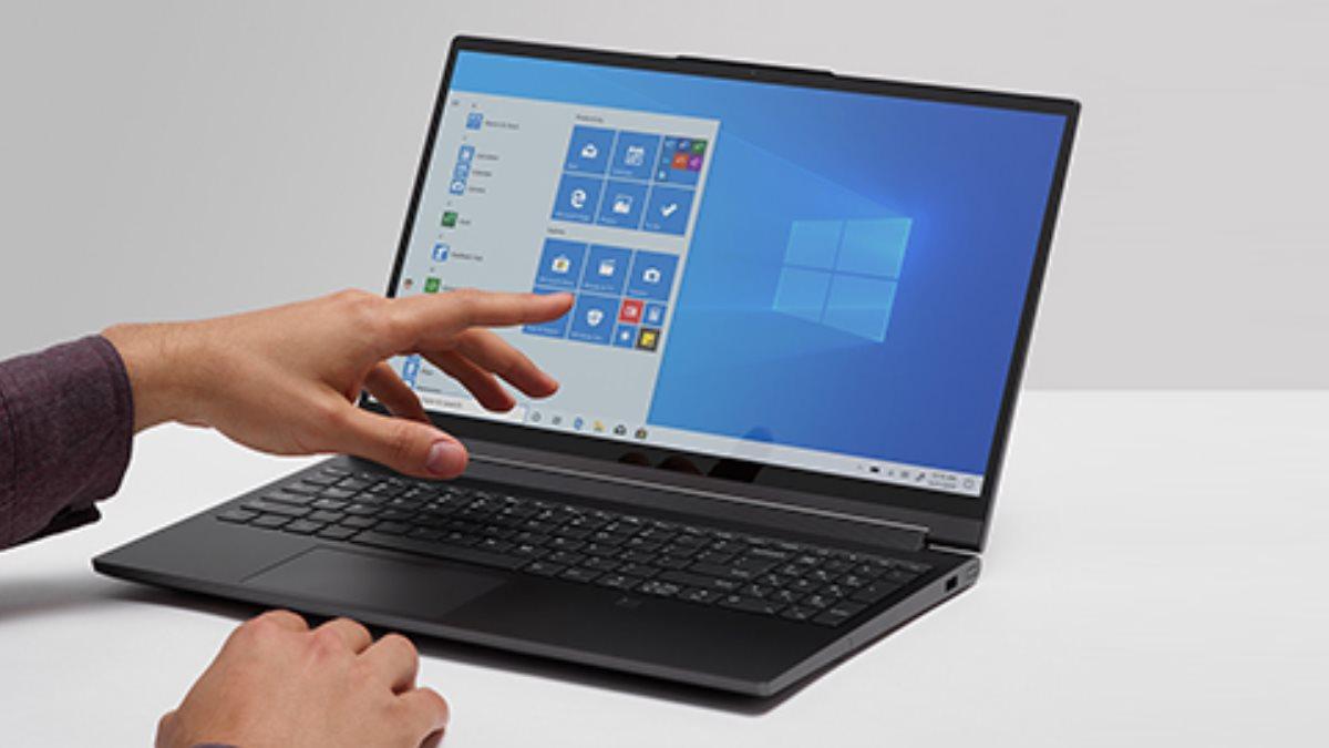 Windows 10 логотип ноутбук