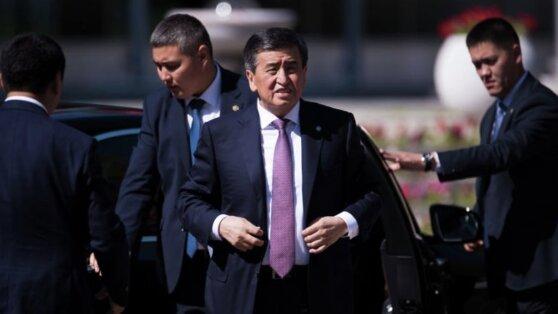 В делегации президента Киргизии выявлены случаи коронавируса