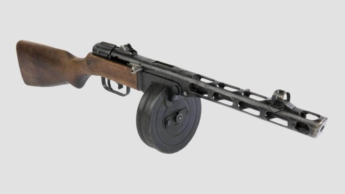 Пистолет-пулемет Шпагина