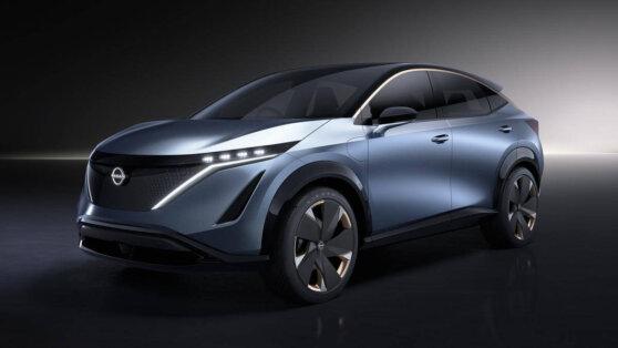 Nissan в июне представит новый кроссовер Aria