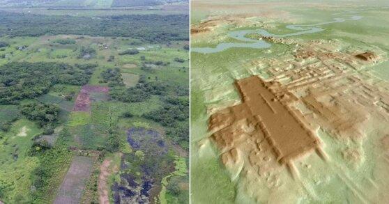 В Мексике обнаружено самое большое и древнее сооружение майя
