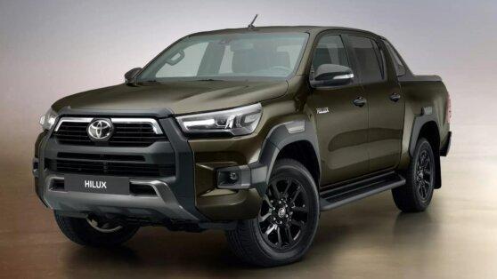 Toyota раскрыла подробности об обновленном пикапе Hilux