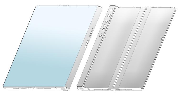 Huawei с большим гибким экраном