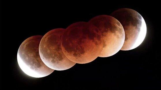Россияне смогут увидеть полутеневое затмение Луны