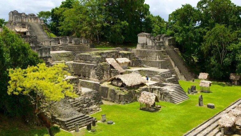 Тикаль, город Майя