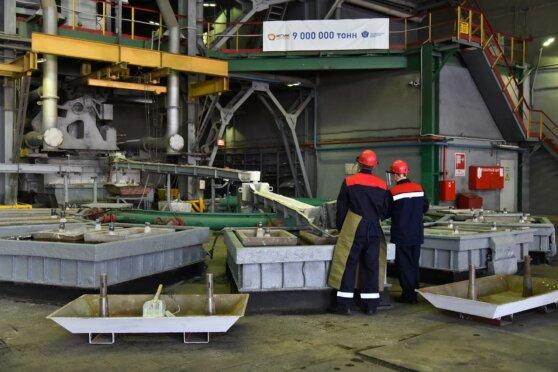 Новый рекорд Челябинского цинкового завода