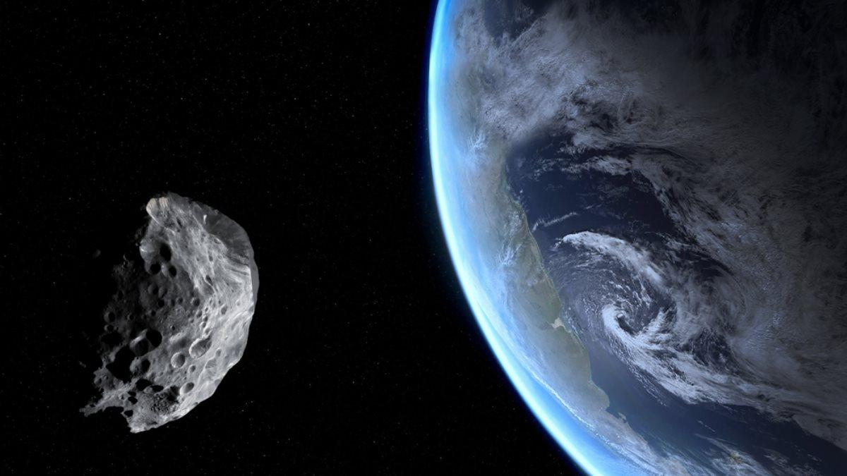Планета Земля метеорит астероид один