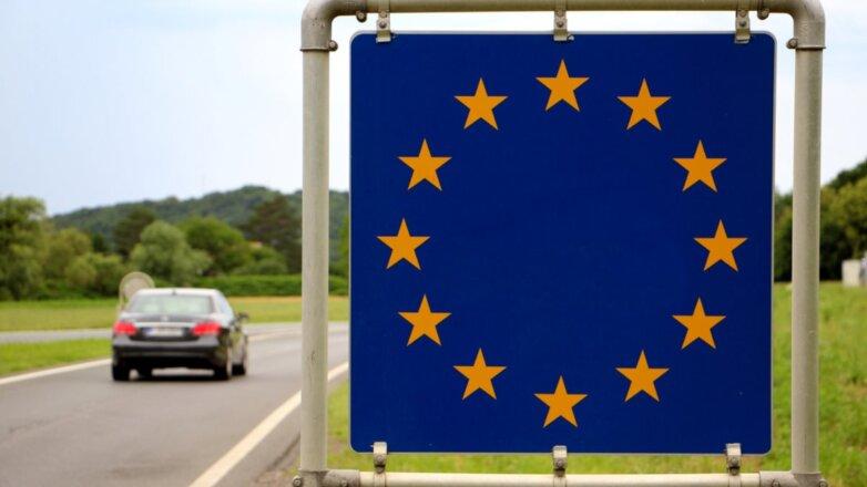 ЕС Евросоюз Европа флаг граница