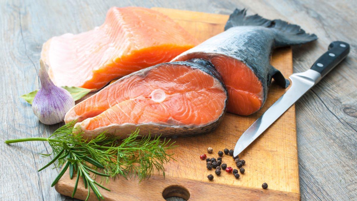 Рыба красная лосось