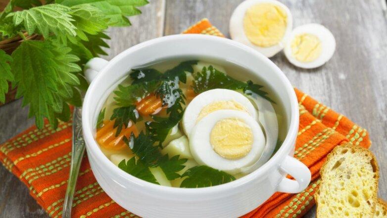 Крапивный суп из крапивы крапива