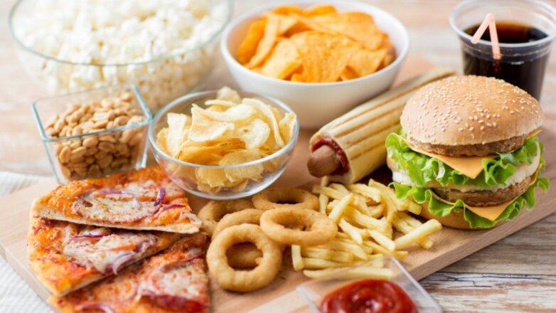 Фастфуд диета похудение