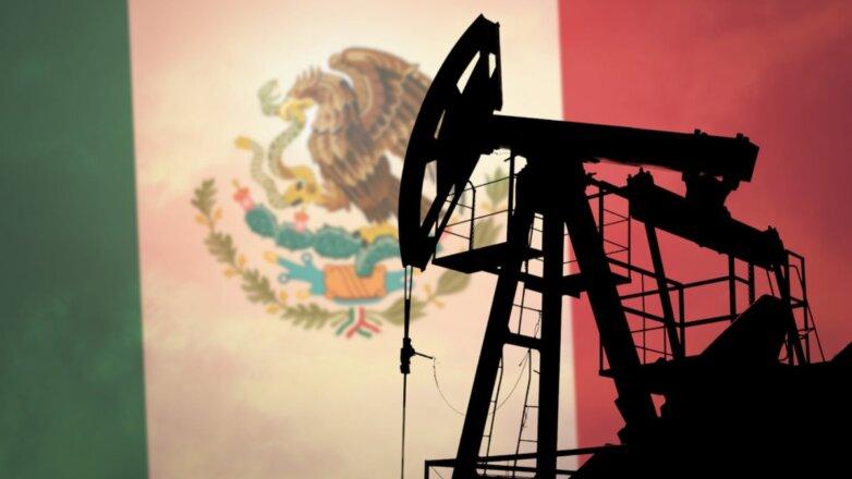 Нефть добыча Мексика флаг