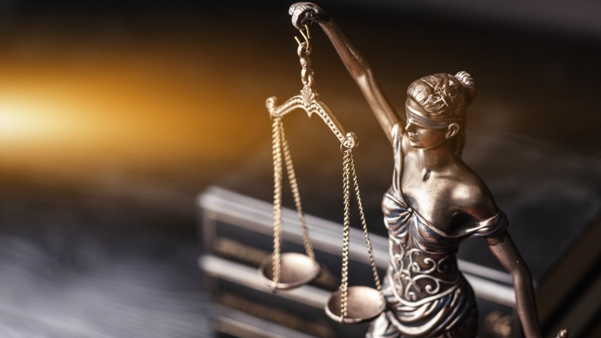 Закон Фемида правосудие статуэтка