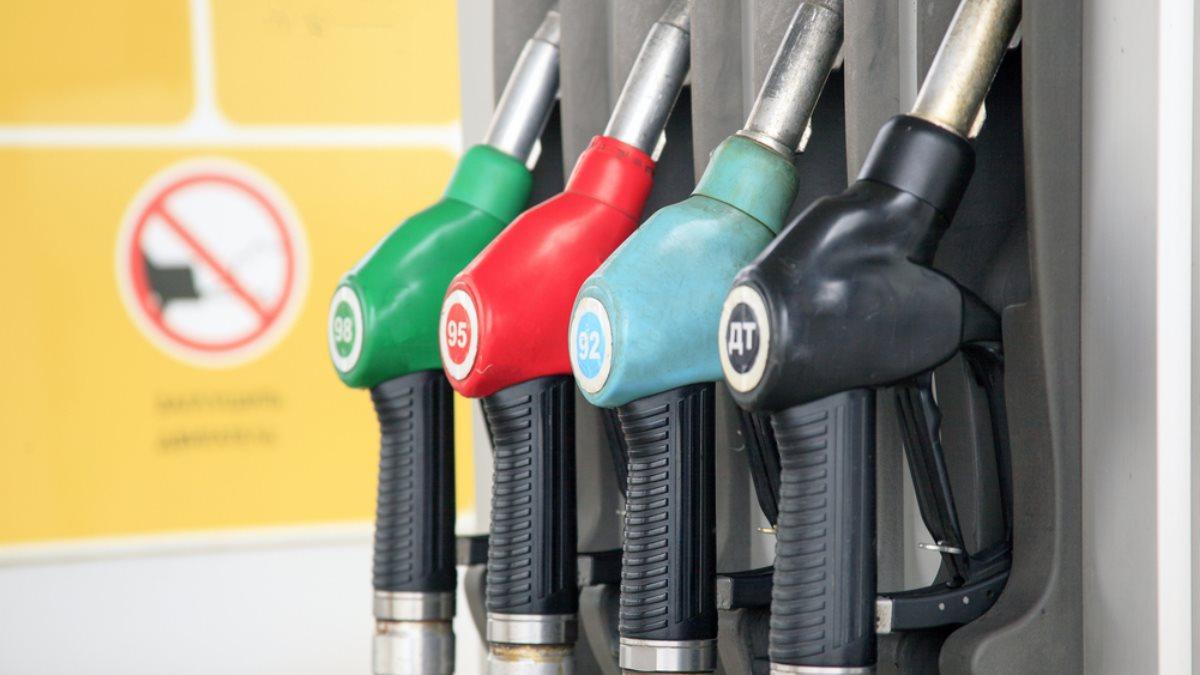 Заправка АЗС бензин дизель топливо жёлтый