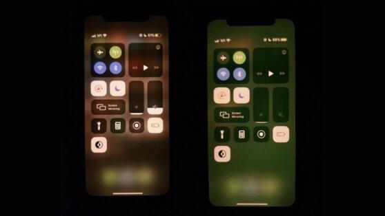 Пользователи iPhone пожаловались на позеленевшие экраны