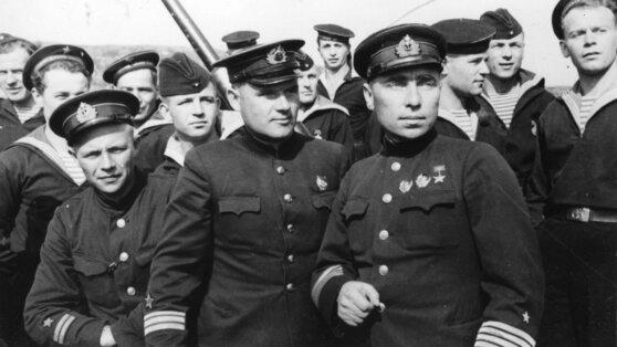 Экипаж подлодки «К-21»