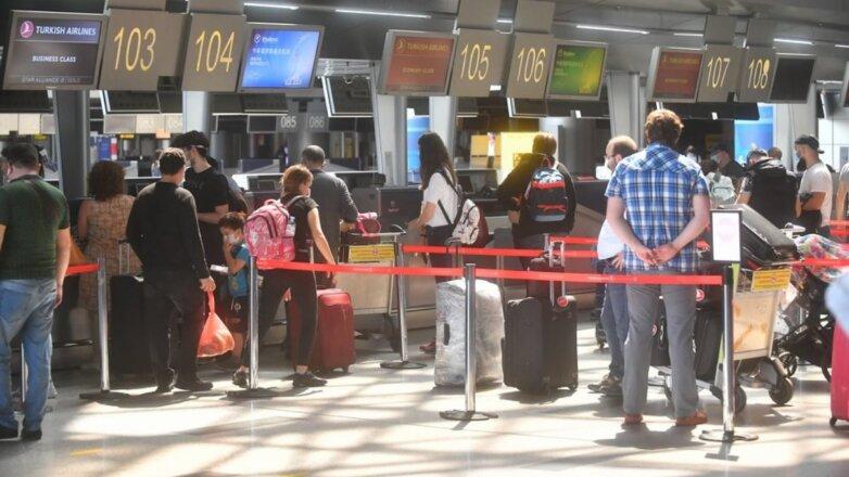 Аэропорт терминал регистрация на рейс авиабилеты