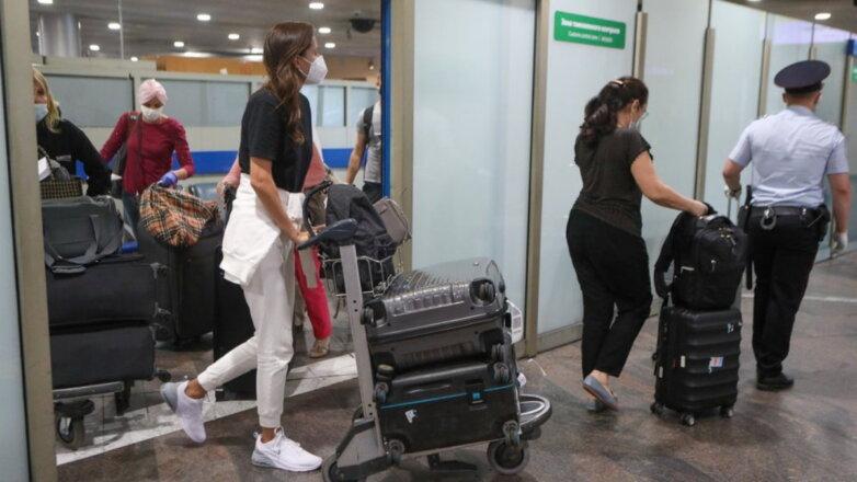 Россия Коронавирус аэропорт пассажиры прилёт контроль четыре