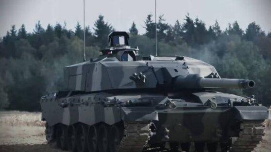 В сети появилось видео новой версии британского танка Challenger 2