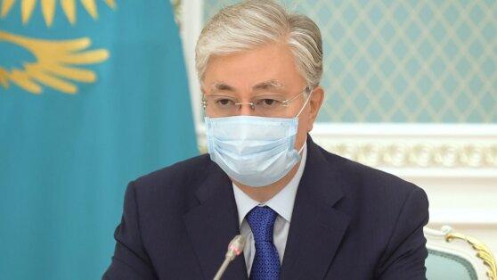 Токаев объяснил причины роста заболеваемости коронавирусом в Казахстане