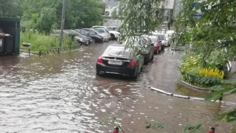 Красногорск затопило
