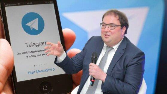 Глава Минкомсвязи выступил за открытие офиса Telegram в России