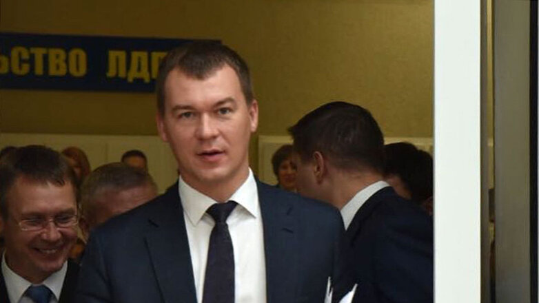 Михаил Дегтярёв, врио губернатора Хабаровского края