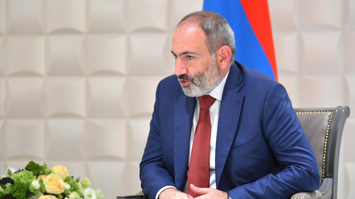 Премьер-министр Армении Никол Пашинян один