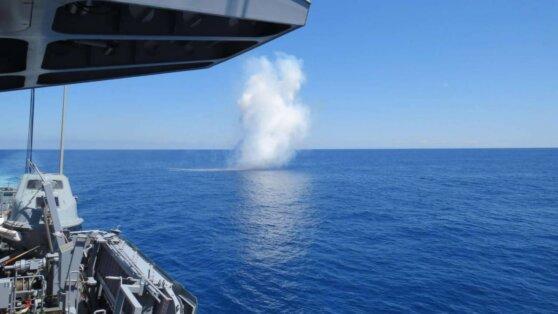 Бундесвер защитит свои корабли с помощью искусственного тумана