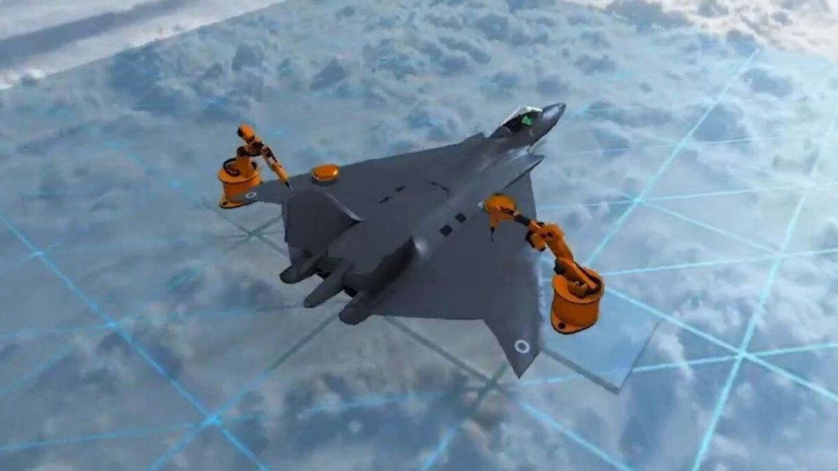 Великобритания показала проект истребителя следующего поколения истребитель